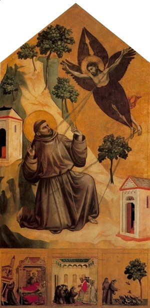 Giotto Di Bondone - Stigmatization of St Francis