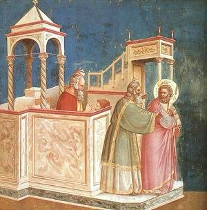 Giotto Di Bondone - Expulsion of Joachim from the Temple