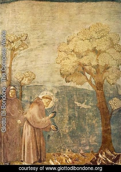Giotto Di Bondone - Legend of St Francis