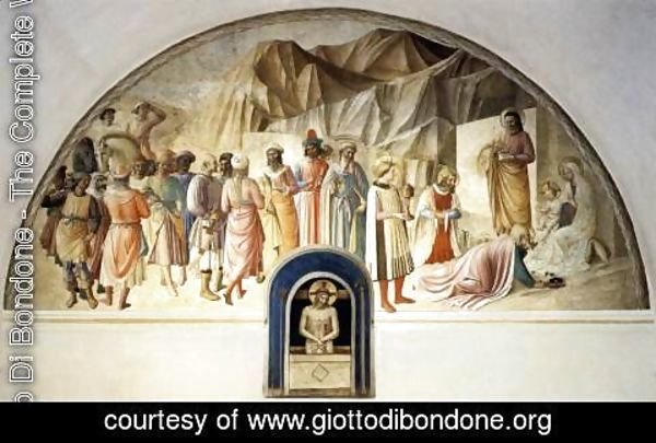 Giotto Di Bondone - Adoration of the Kings