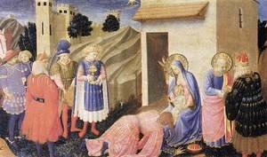 Giotto Di Bondone - Adoration of the Magi 2