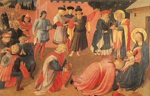 Giotto Di Bondone - Adoration of the Magi