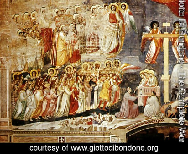 Giotto Di Bondone - Cappella Scrovegni a Padova, Life of Christ, Last Supper