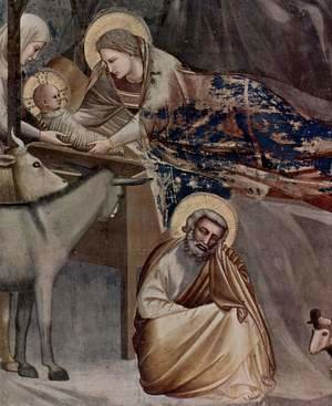 Giotto Di Bondone - Christ's birth
