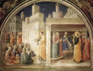 Giotto Di Bondone - Lunette of the north wall