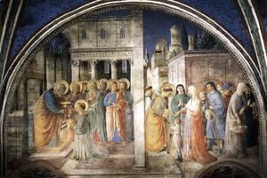 Giotto Di Bondone - Lunette of the west wall