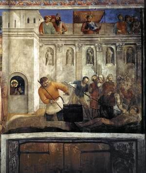 Giotto Di Bondone - Martyrdom of St Lawrence