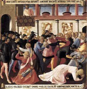 Giotto Di Bondone - Massacre of the Innocents