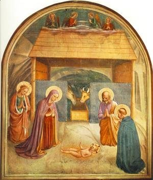 Giotto Di Bondone - Nativity
