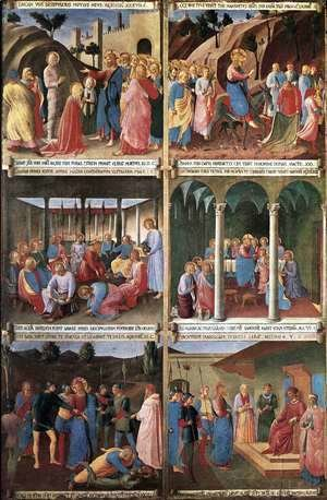 Giotto Di Bondone - Paintings for the Armadio degli Argenti