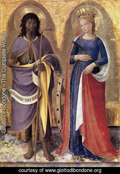 Giotto Di Bondone - Perugia Altarpiece (right panel)