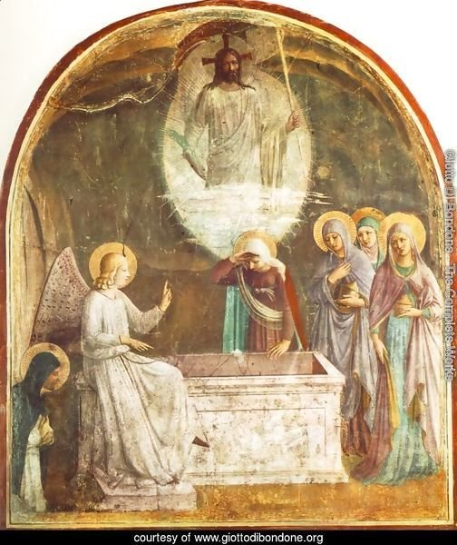 Resurrection of Christ and Women at the Tomb