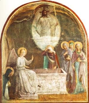 Giotto Di Bondone - Resurrection of Christ and Women at the Tomb