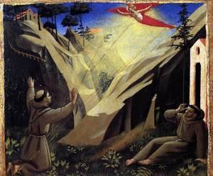 Giotto Di Bondone - St Francis Receiving the Stigmata
