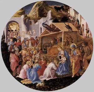 Giotto Di Bondone - The Adoration of the Magi