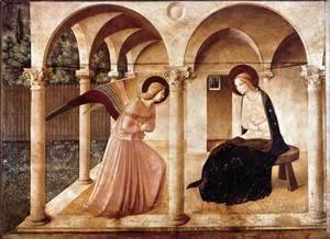 Giotto Di Bondone - The Annunciation 3