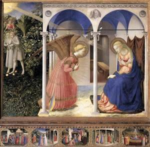 Giotto Di Bondone - The Annunciation