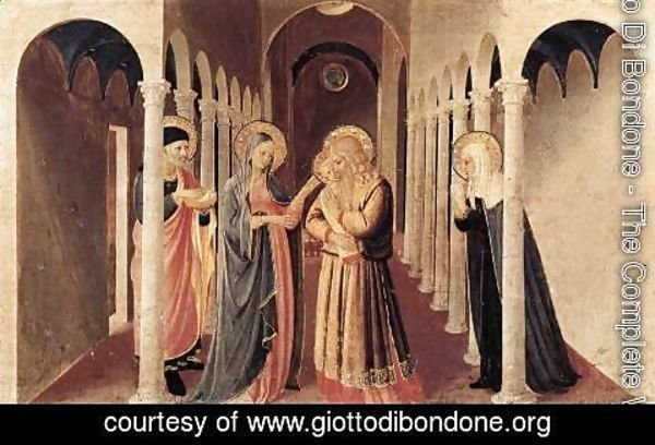 Giotto Di Bondone - The Presentation of Christ in the Temple