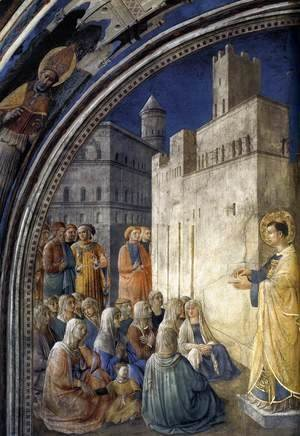 Giotto Di Bondone - The Sermon of St Stephen