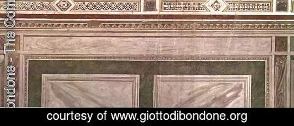 Giotto Di Bondone - Painted veined marble