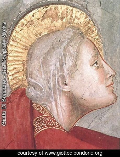 Giotto Di Bondone - Scenes from the Life of Mary Magdalene Noli me tangere (detail) 2