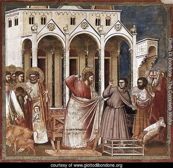 No. 27 Scenes from the Life of Christ 11. Expulsion of the Money-changers from