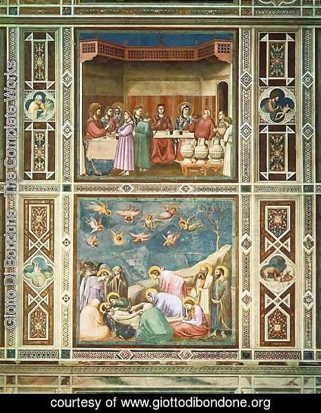 Giotto Di Bondone - Decorative bands 2