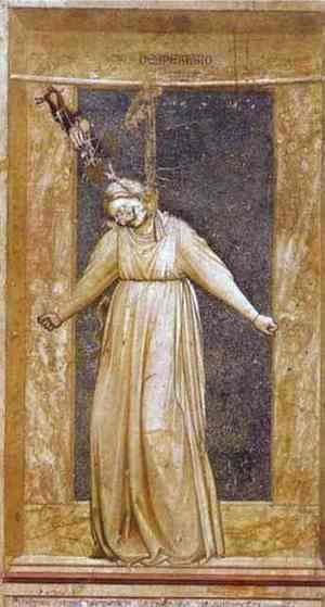Giotto Di Bondone - Despair 1302-1305