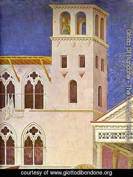 Giotto Di Bondone - Homage Of A Simple Man Detail 1 1295-1300