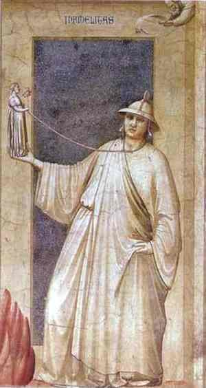 Giotto Di Bondone - Idolatry 1302-1305
