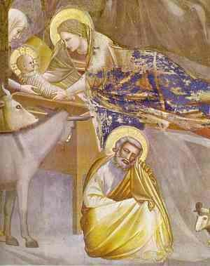 Giotto Di Bondone - The Nativity 1304-1306