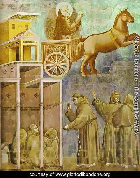 The Vision Of The Chariot Of Fire 1295-1300