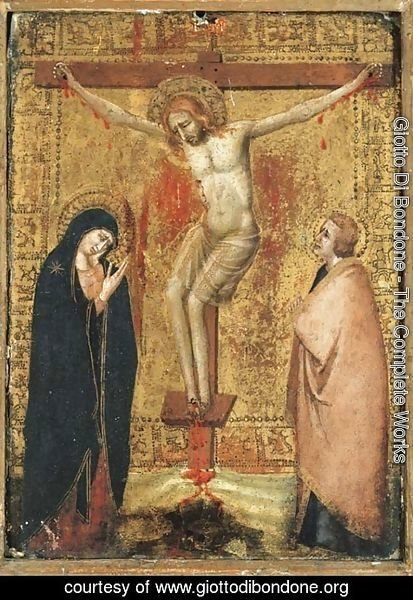 Giotto Di Bondone - The Crucifixion with the Virgin and Saint John the Evangelist