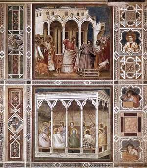 Giotto Di Bondone - Decorative Bands