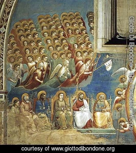 Giotto Di Bondone - Last Judgment (detail)