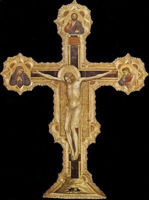 Giotto Di Bondone - The Crucifixion 3