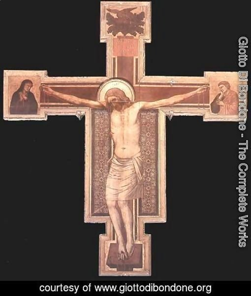 Giotto Di Bondone - The Crucifixion 4