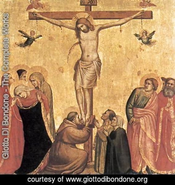 Giotto Di Bondone - The Crucifixion 5
