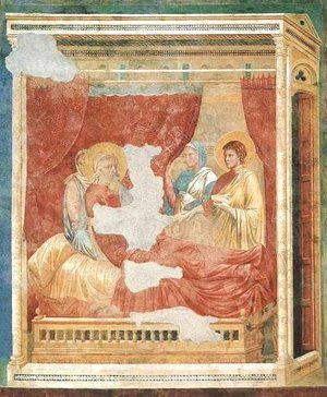 Giotto Di Bondone - Isaac Blessing Jacob