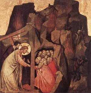 Giotto Di Bondone - Descent into Limbo 1320-25