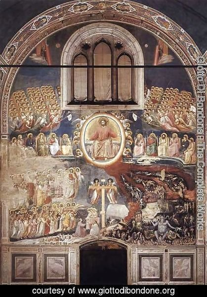Giotto Di Bondone - Last Judgment 1306