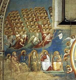 Last Judgment (detail 2) 1306, Fresco, Cappella Scrovegni (Arena Chapel), Padua