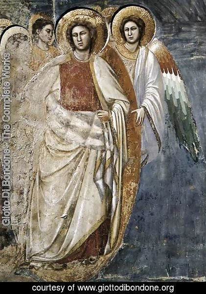 Giotto Di Bondone - Last Judgment (detail 5) 1306