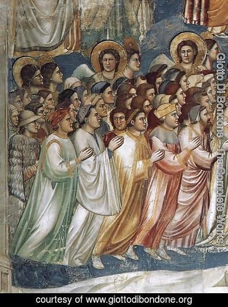 Giotto Di Bondone - Last Judgment (detail 6) 1306