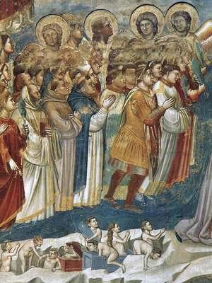 Giotto Di Bondone - Last Judgment (detail 7) 1306