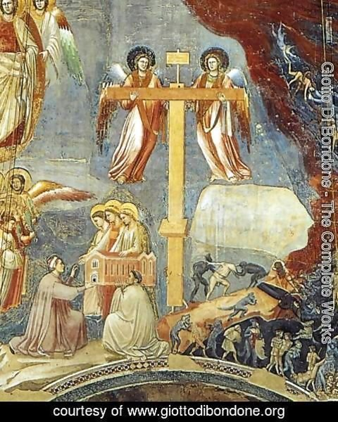 Giotto Di Bondone - Last Judgment (detail 9) 1306