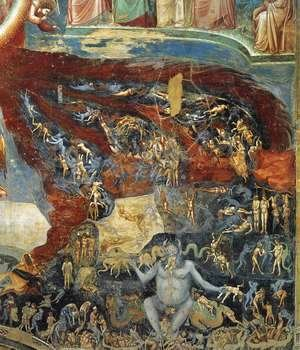 Giotto Di Bondone - Last Judgment (detail 10) 1306
