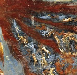 Giotto Di Bondone - Last Judgment (detail 11) 1306