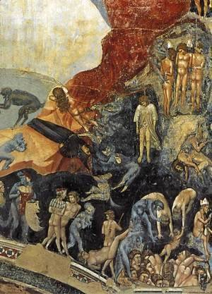 Giotto Di Bondone - Last Judgment (detail 13) 1306