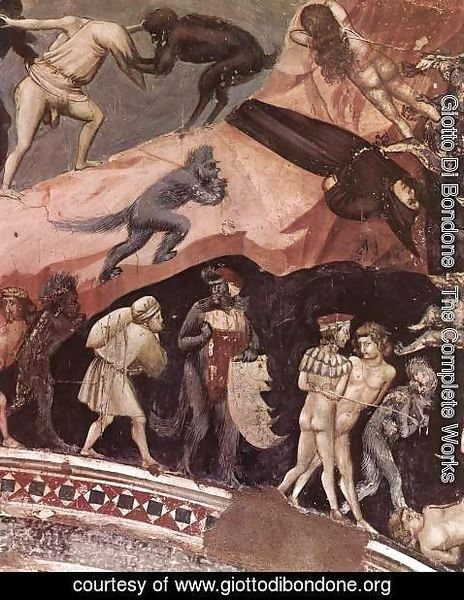Giotto Di Bondone - Last Judgment (detail 16) 1306